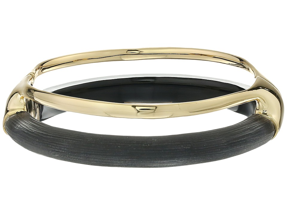 Alexis Bittar - Double Band Liquid Hinge Bracelet (Black) Bracelet