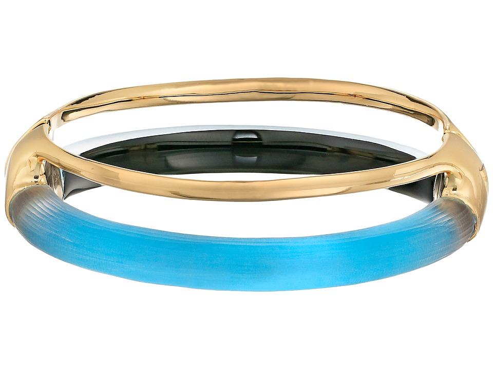 Alexis Bittar - Double Band Liquid Hinge Bracelet (Azure) Bracelet