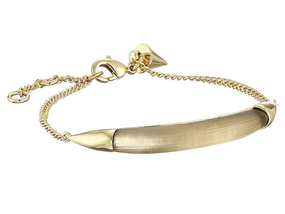 Alexis Bittar - ID Curb Chain Bracelet (Warm Grey) Bracelet