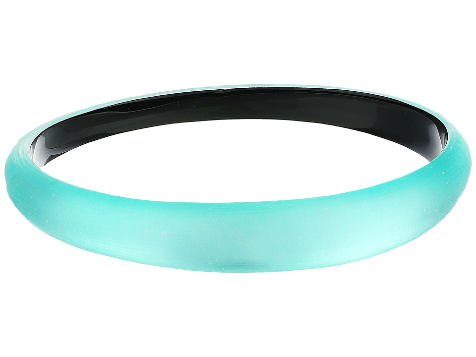Alexis Bittar - Skinny Tapered Bangle (Mint Green) Bracelet