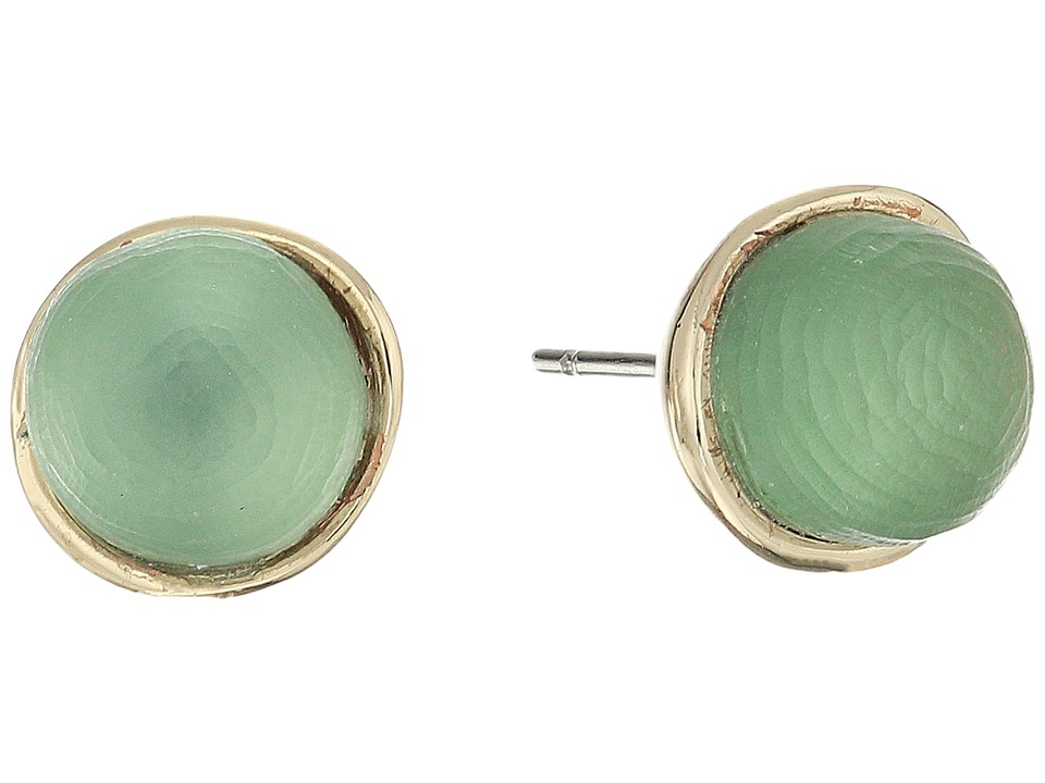 Alexis Bittar - Mini Sphere Stud Earrings (Rosemary) Earring