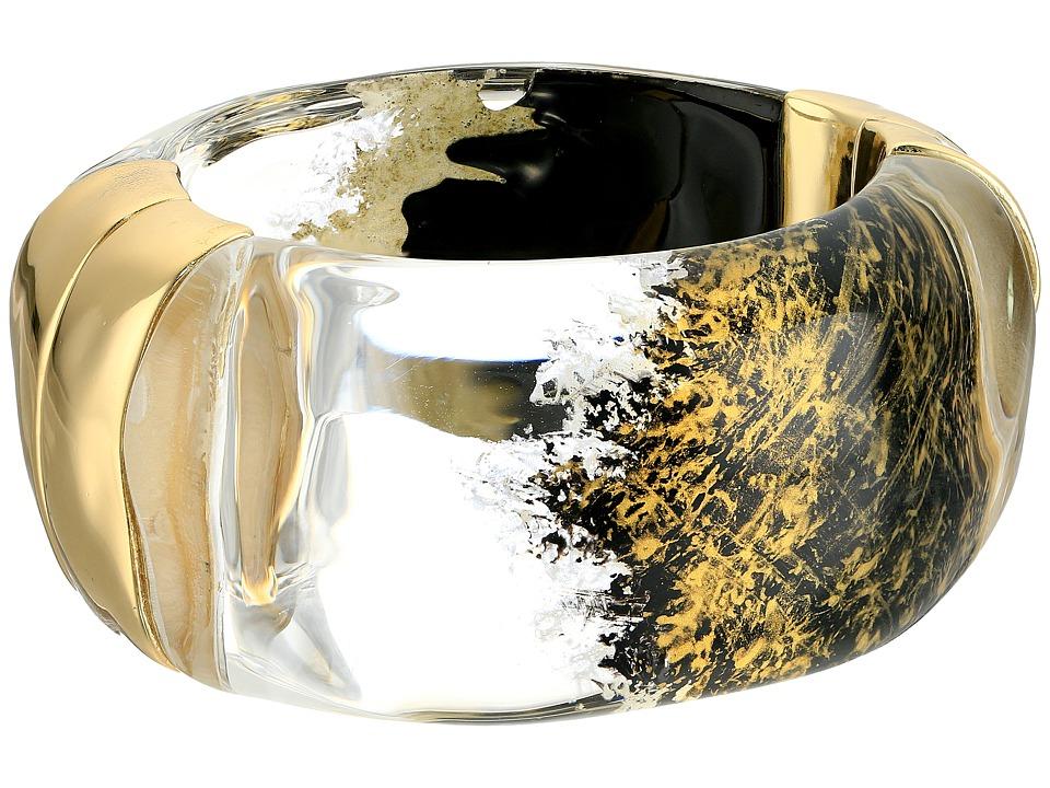 Alexis Bittar - Liquid Side Hinge Bracelet (Gold Lame) Bracelet