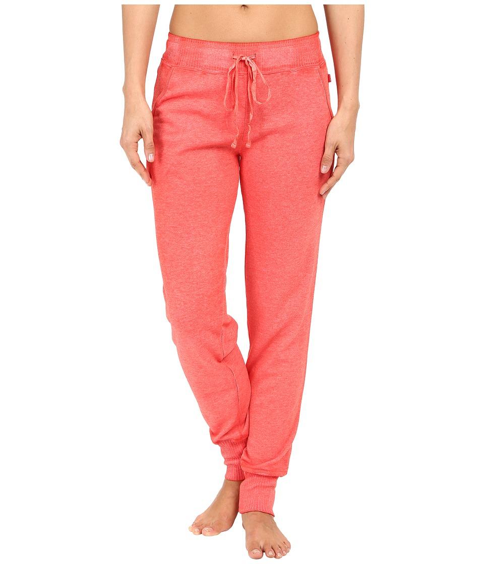 Josie - New Sweatpants (Guava) Women's Pajama