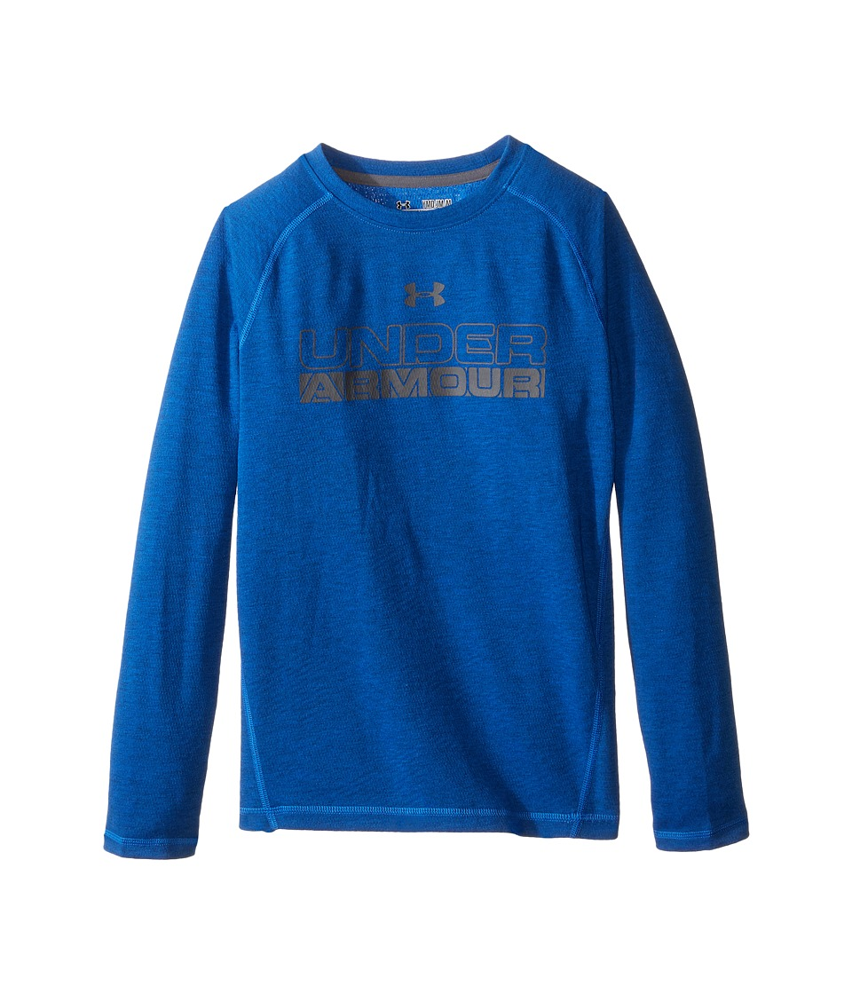 Under Armour Kids - Infrared Long Sleeve (Big Kids) (Ultra Blue/Graphite) Boy's Clothing