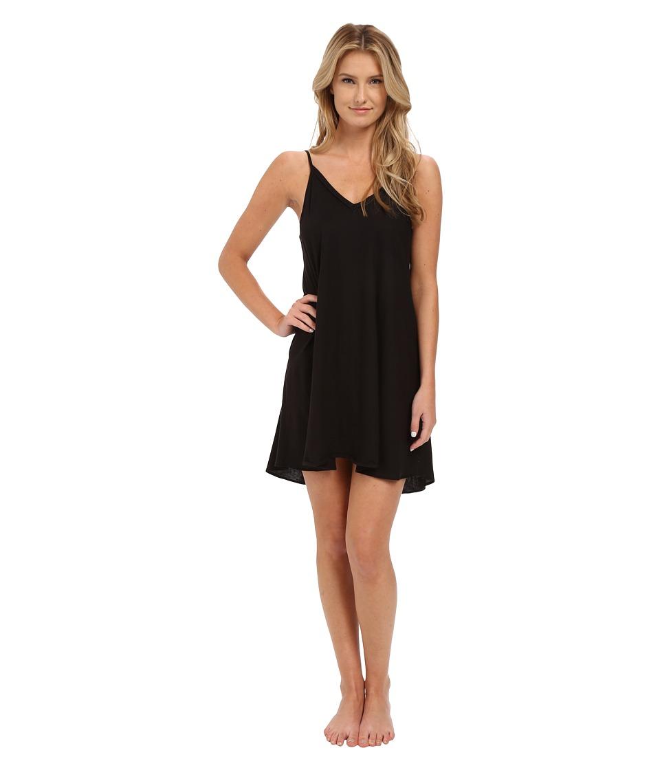 Natori - Tranquility Chemise (Black) Women's Pajama