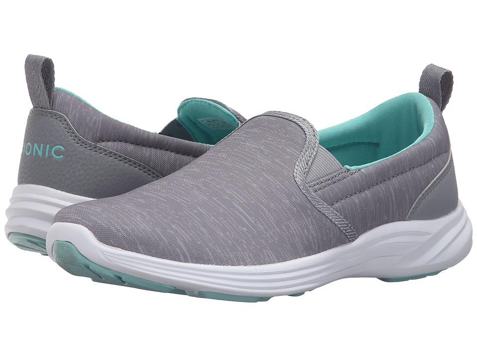 VIONIC - Agile Kea Slip-On (Silver) Women's Slip on Shoes