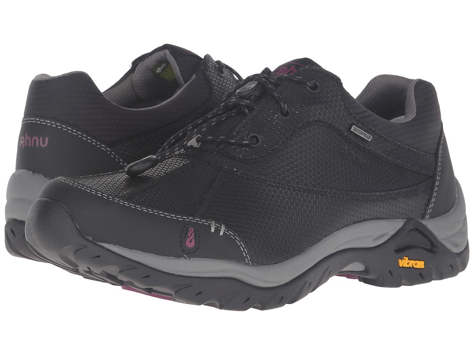 Image of Ahnu - Calaveras WP (Black) Women's Shoes