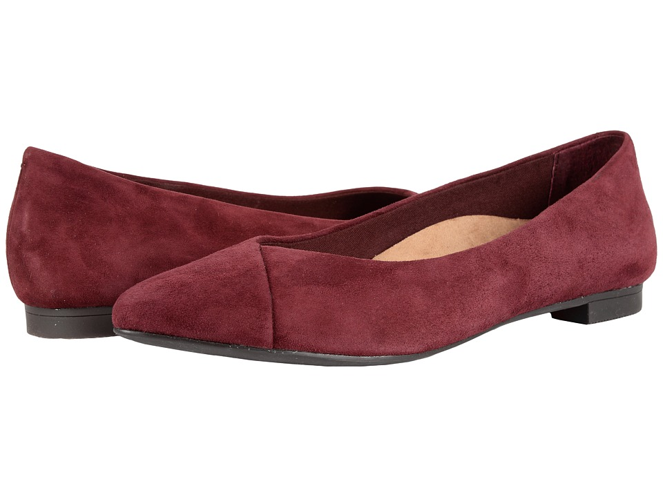 VIONIC - Gem Caballo Ballet Flat (Merlot) Women's Flat Shoes