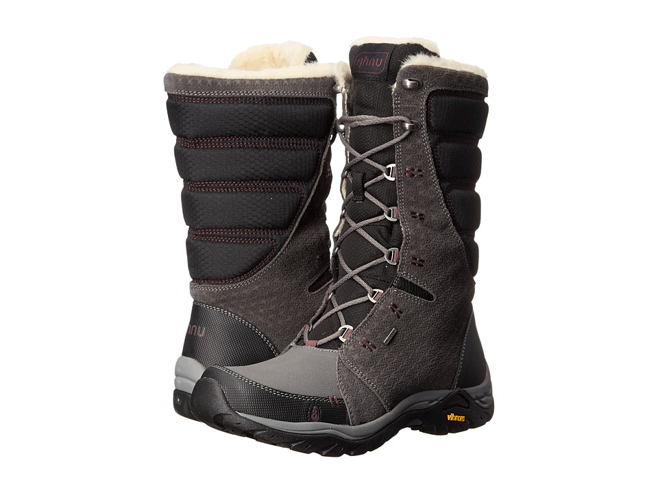 Ahnu Northridge Star Suede Insulated WP (Granite) Women