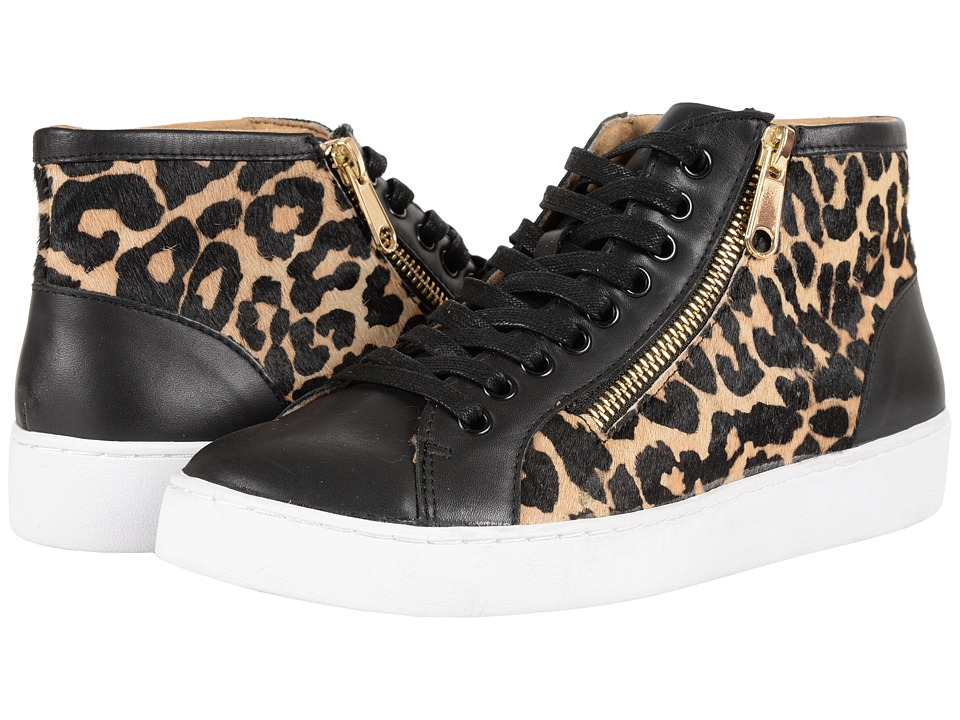 VIONIC - Splendid Torri Zip Lace-Up (Tan Leopard) Women's Zip Boots
