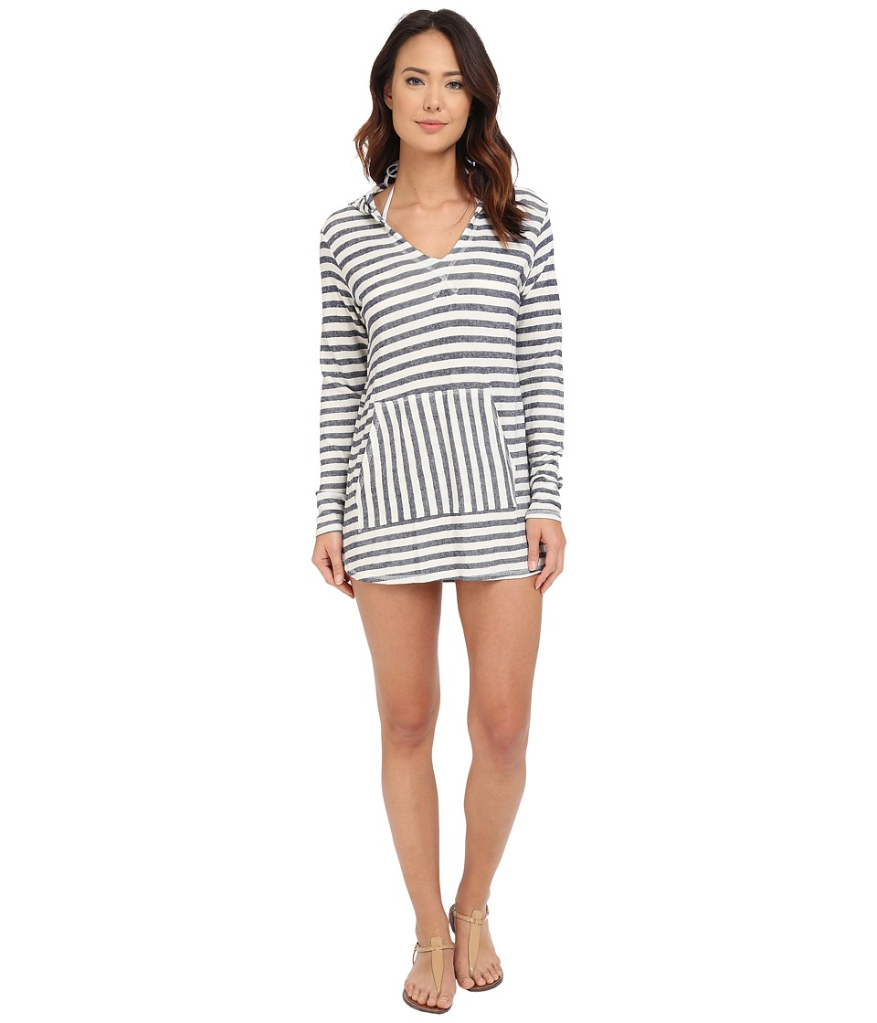 Sperry Top-Sider - Odyssey Stripe Poncho Cover-Up (Ivory) Women's Swimwear