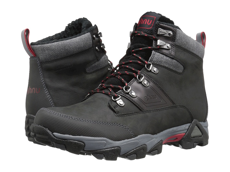 Ahnu - Orion Insulated WP (Black) Men's Shoes