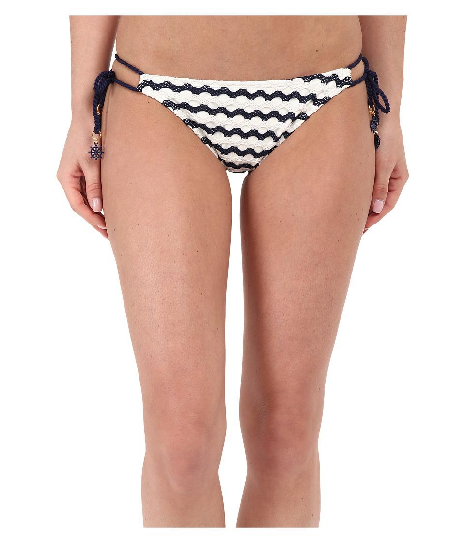 Sperry - Sea's The Day String Tie Side (Midnight) Women's Swimwear