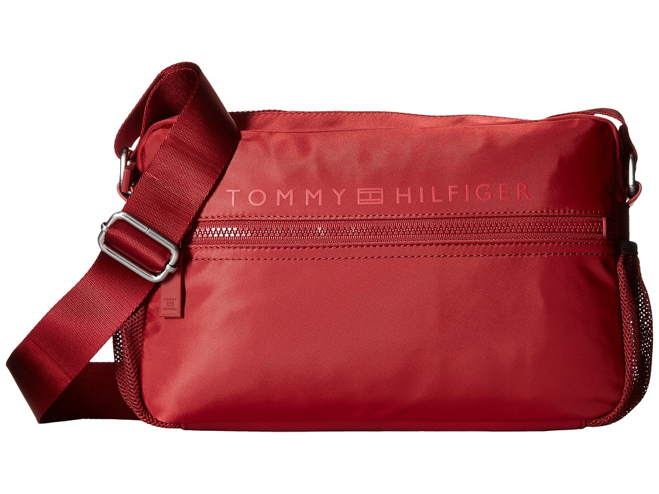 Tommy Hilfiger - Urban-East/West Flight Bag-Nylon (Red) Bags