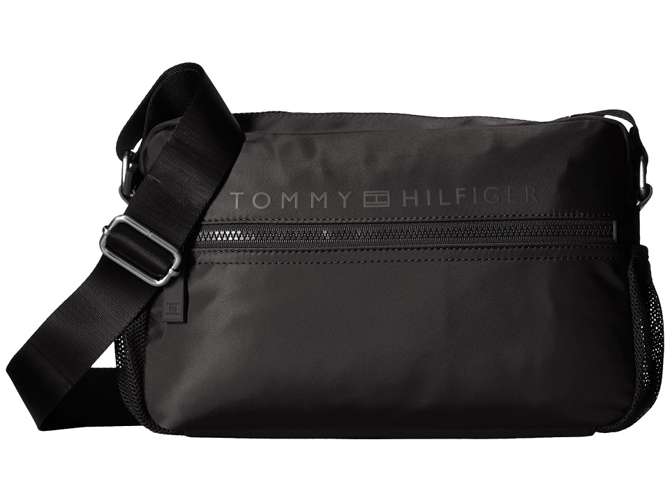 Tommy Hilfiger - Urban-East/West Flight Bag-Nylon (Black) Bags