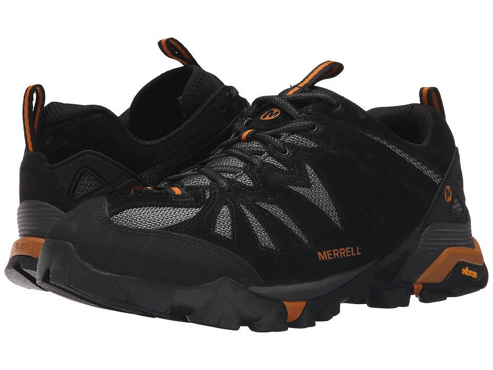 Merrell - Capra (Black/Orange) Men's Shoes