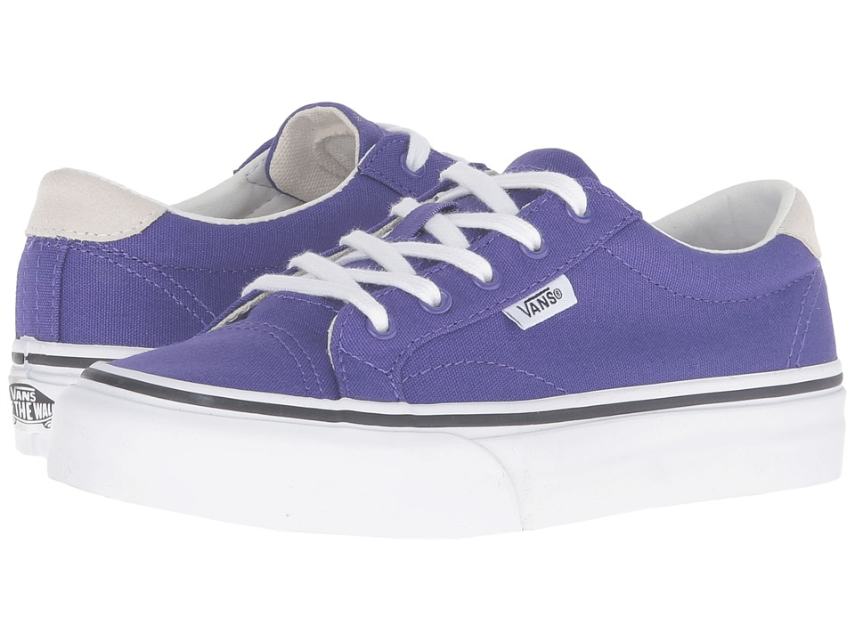 Vans Kids - Court (Little Kid/Big Kid) ((Canvas) Liberty/True White) Girls Shoes