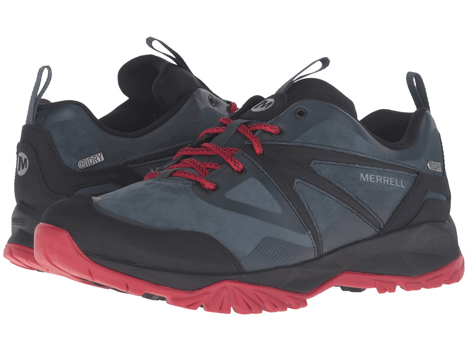 Merrell Capra Bolt Leather Waterproof (Navy) Men