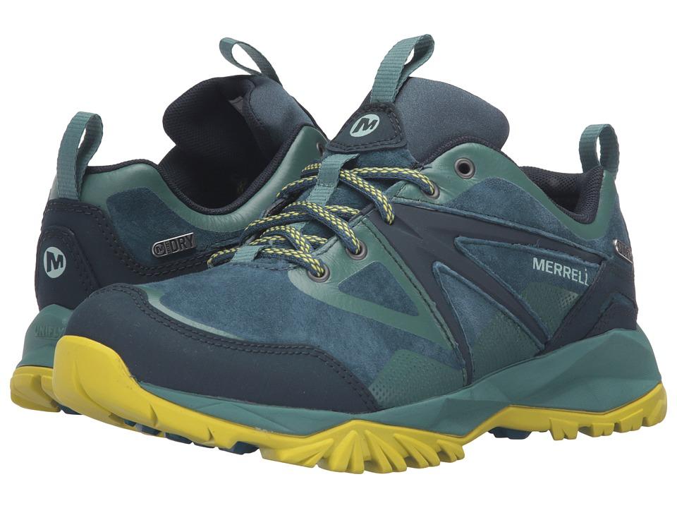 Merrell Capra Bolt Leather Waterproof (Sagebrush Green) Women