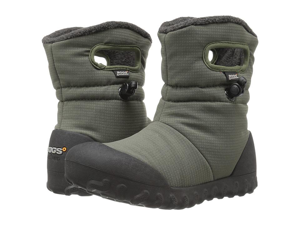Bogs Kids - B-Moc Puff (Toddler/Little Kid/Big Kid) (Moss) Boys Shoes