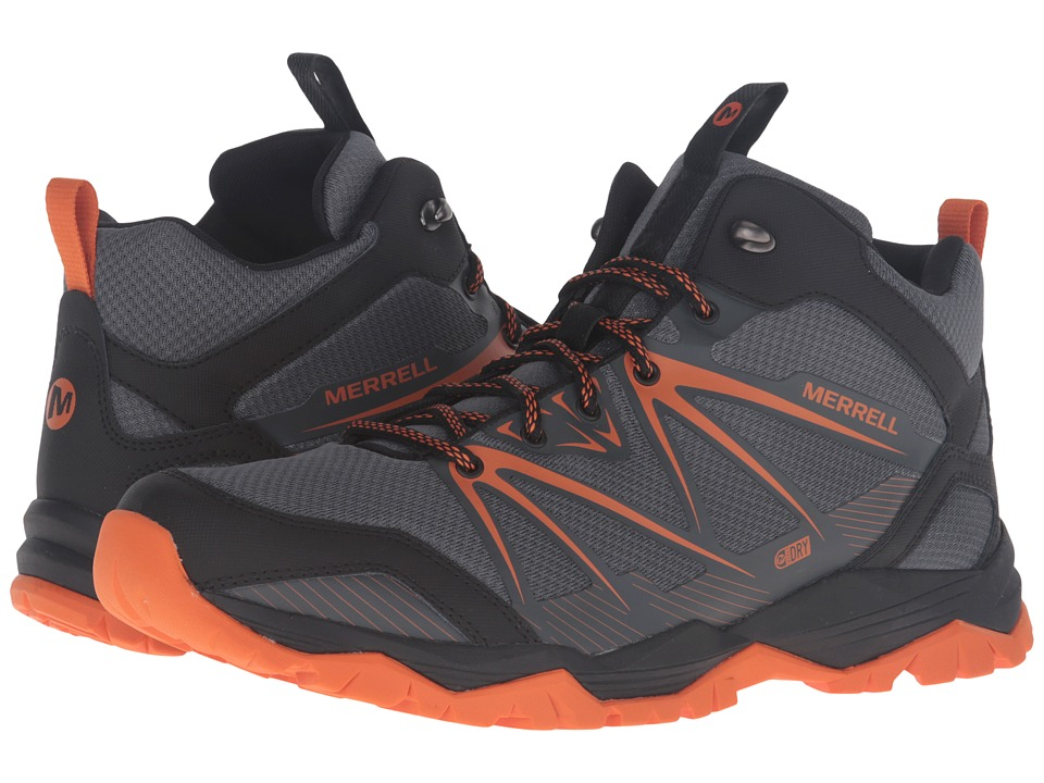 Merrell Capra Rise Mid Waterproof (Castle Rock) Men