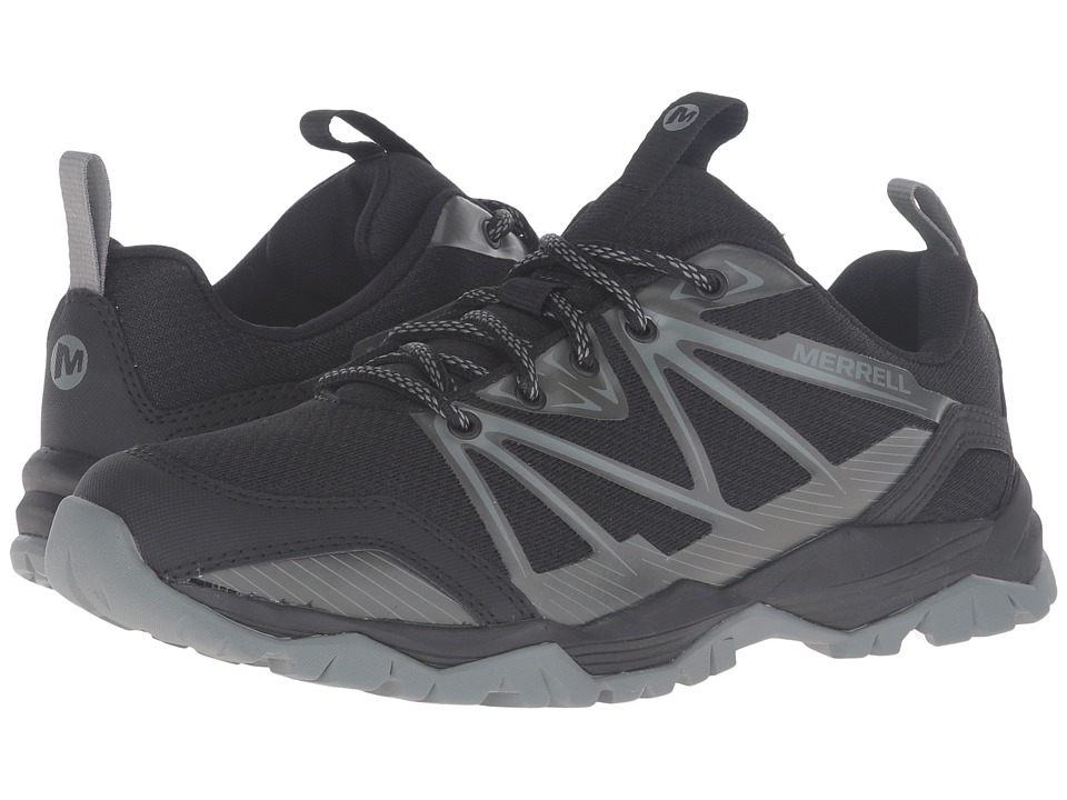 Merrell - Capra Rise (Black) Women's Lace up casual Shoes