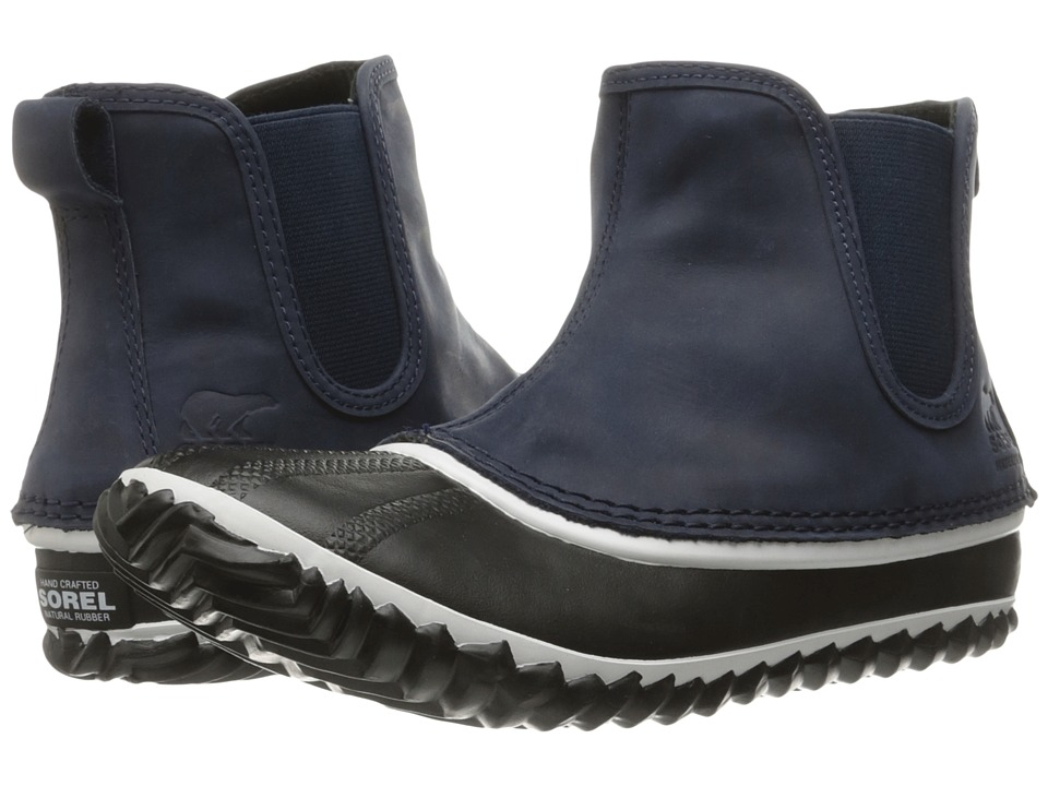 SOREL - Out 'N About Chelsea (Collegiate Navy) Women's Waterproof Boots