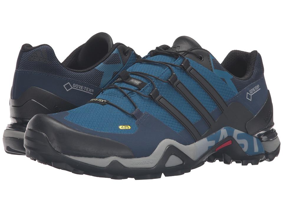 adidas Outdoor - Terrex Fast R GTX (Tech Steel/Black/Collegiate Navy) Men's Shoes