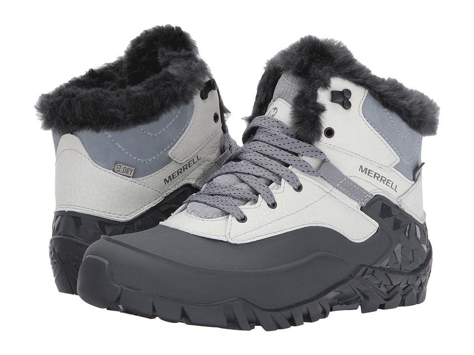 Merrell - Aurora 6 Ice+ Waterproof (Ash) Women's Boots