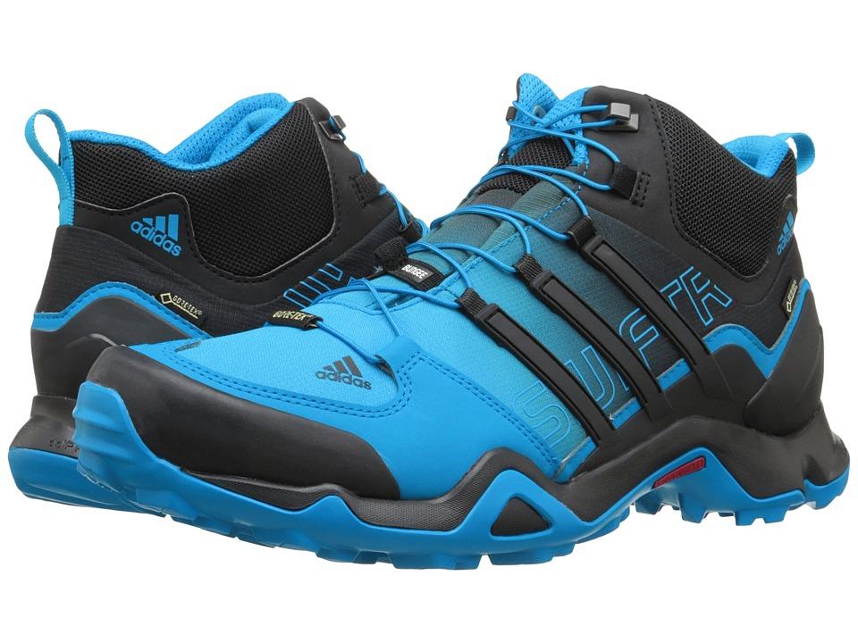 adidas Outdoor - Terrex Swift R Mid GTX (Shock Blue/Black/Chalk White) Men's Shoes