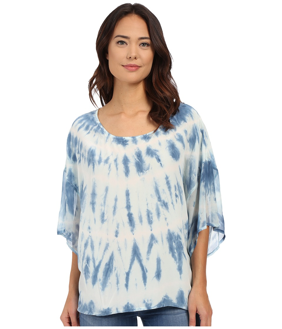 Gypsy05 - Silk Dolman Sleeve Easy Tee (Aqua) Women's T Shirt