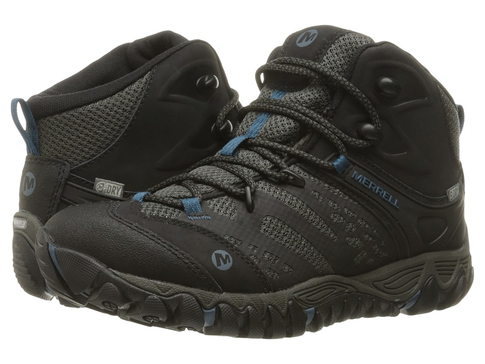 Merrell - All Out Blaze Vent Mid Waterproof (Black) Women's Shoes
