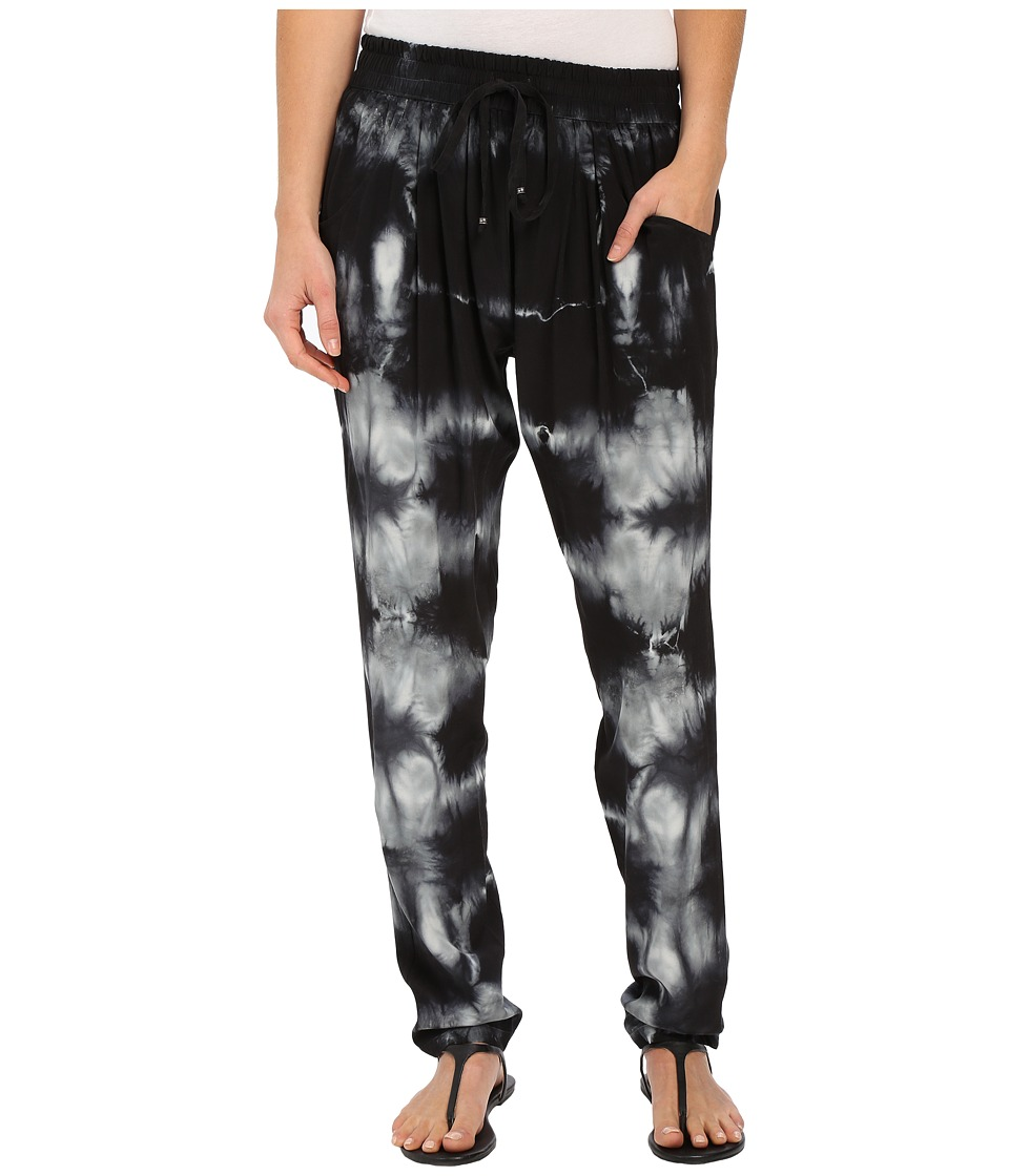 Gypsy05 - Silk Perfect Pants with Drawstring (Black) Women's Casual Pants