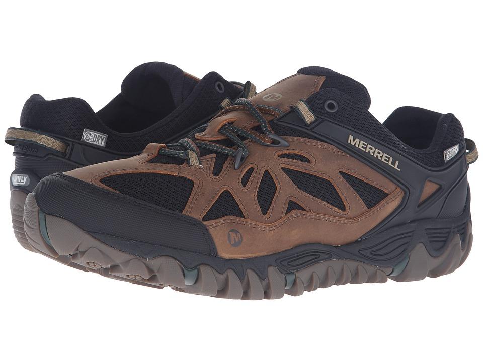 Merrell - All Out Blaze Vent Waterproof (Merrell Tan) Men's Shoes