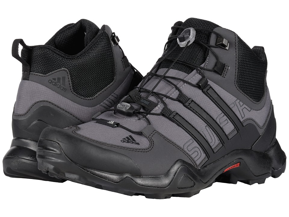 adidas Outdoor - Terrex Swift R Mid (Granite/Black/Shadow Black) Men's Climbing Shoes