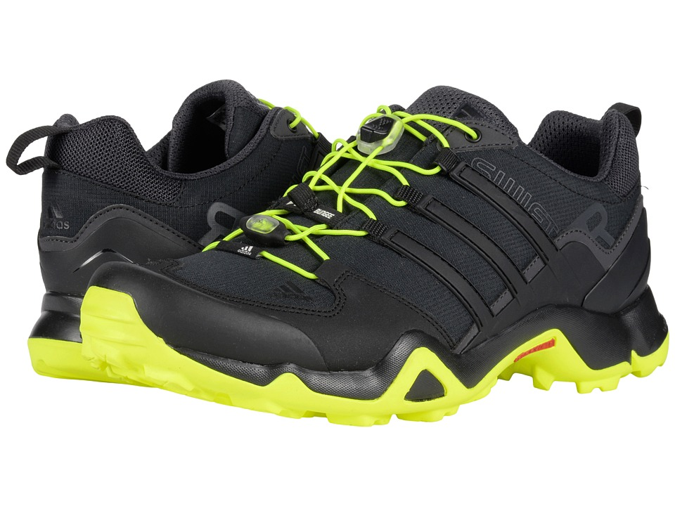 adidas Outdoor - Terrex Swift R (Black/Solar Yellow/Utility Black) Men's Shoes