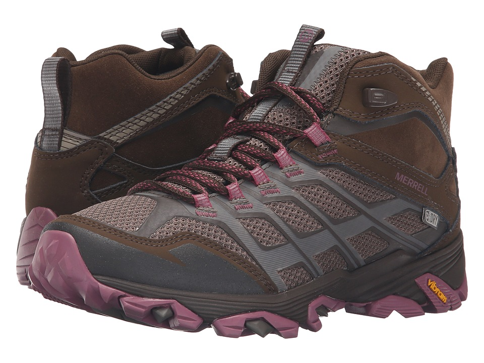 Merrell - Moab FST Mid Waterproof (Boulder) Women's Hiking Boots
