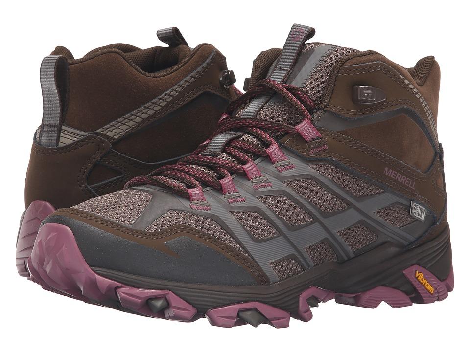 Merrell - Moab FST Mid Waterproof (Boulder) Women's Hiking Boots