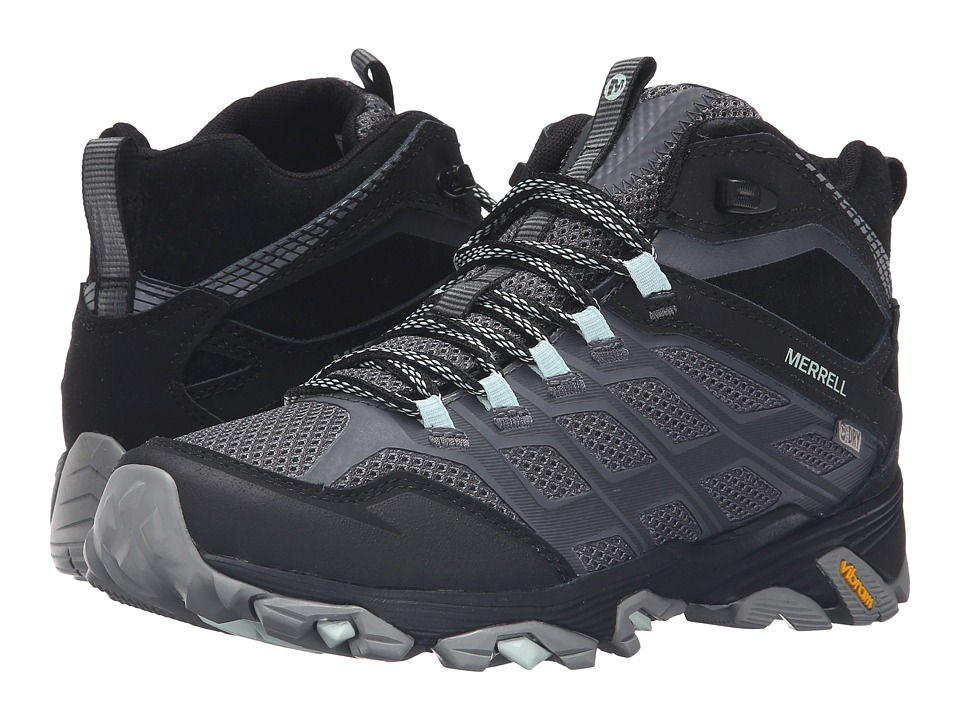 Merrell Moab FST Mid Waterproof (Granite) Women