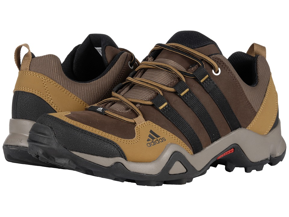 adidas Outdoor - Brushwood Leather (Brown/Black/Craft Khaki) Men's Shoes