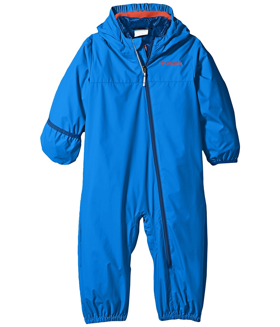 Columbia Kids - Whirlibird Bunting (Infant/Toddler) (Super Blue/Tangy Orange/Marine Blue) Kid's Jumpsuit & Rompers One Piece