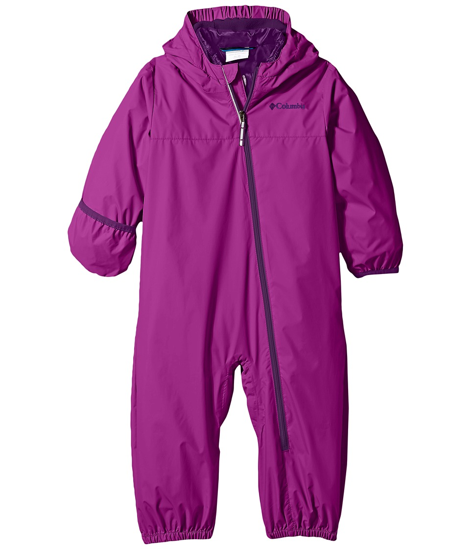 Columbia Kids - Whirlibird Bunting (Infant/Toddler) (Bright Plum/Hydrangea/Iris Glow) Kid's Jumpsuit & Rompers One Piece