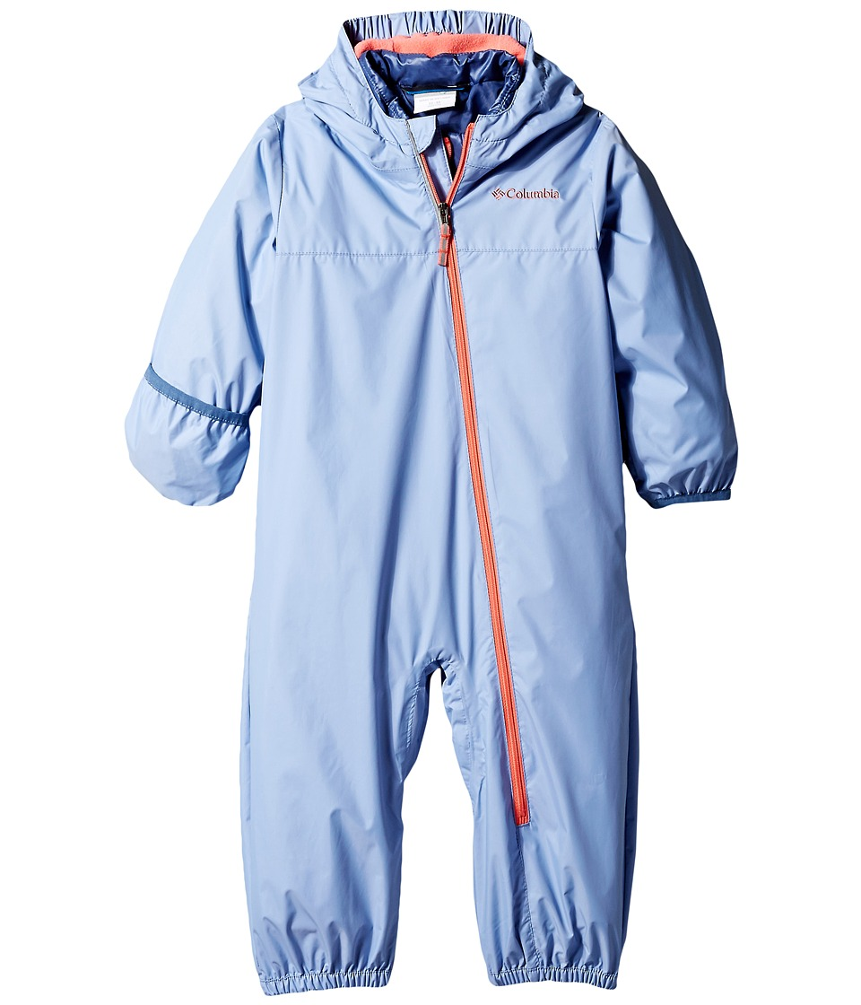 Columbia Kids - Whirlibird Bunting (Infant/Toddler) (Empress/Hot Coral/Bluebell) Kid's Jumpsuit & Rompers One Piece