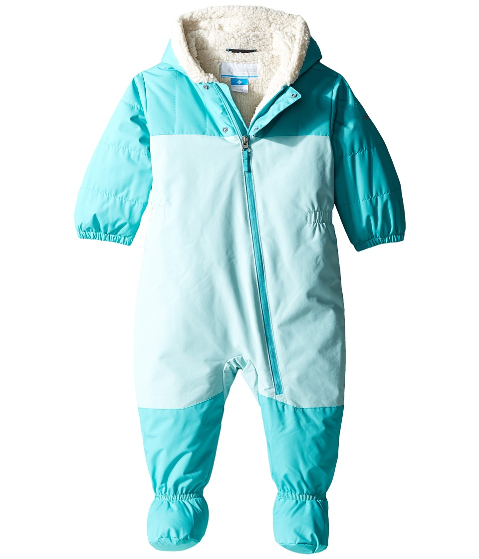 Columbia Kids - Cute Factor Bunting (Infant/Toddler) (Spray/Miami) Kid's Jumpsuit & Rompers One Piece