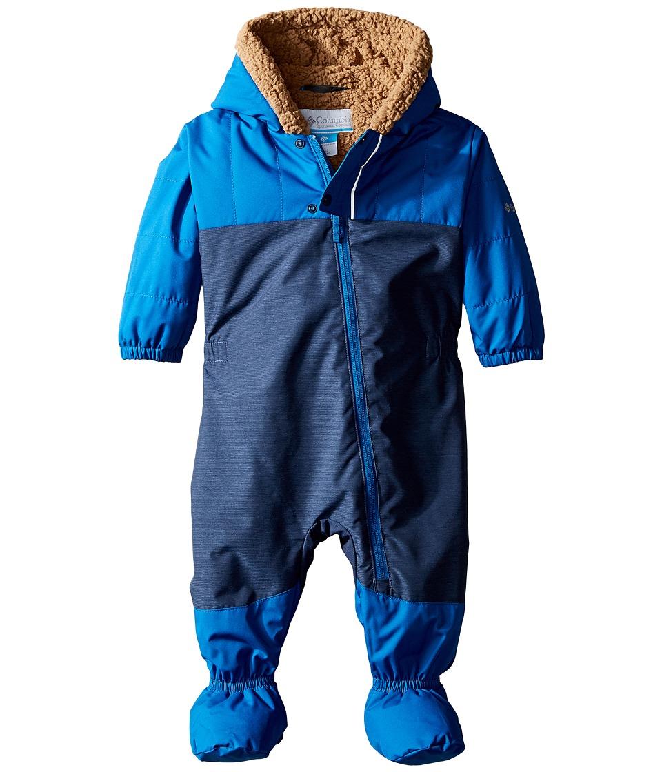 Columbia Kids - Cute Factor Bunting (Infant/Toddler) (Marine Blue/Collegiate Navy) Kid's Jumpsuit & Rompers One Piece