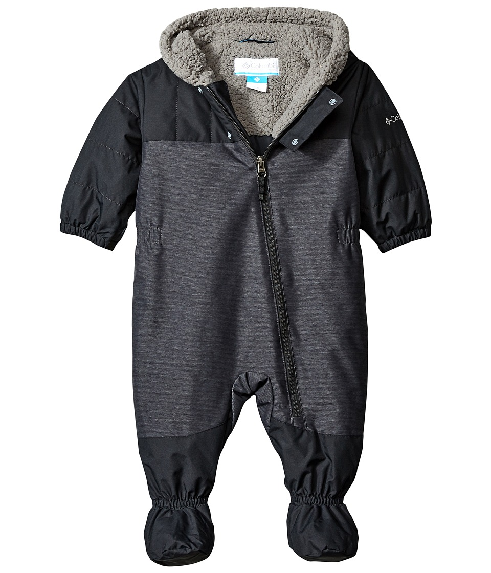 Columbia Kids - Cute Factor Bunting (Infant/Toddler) (Black) Kid's Jumpsuit & Rompers One Piece