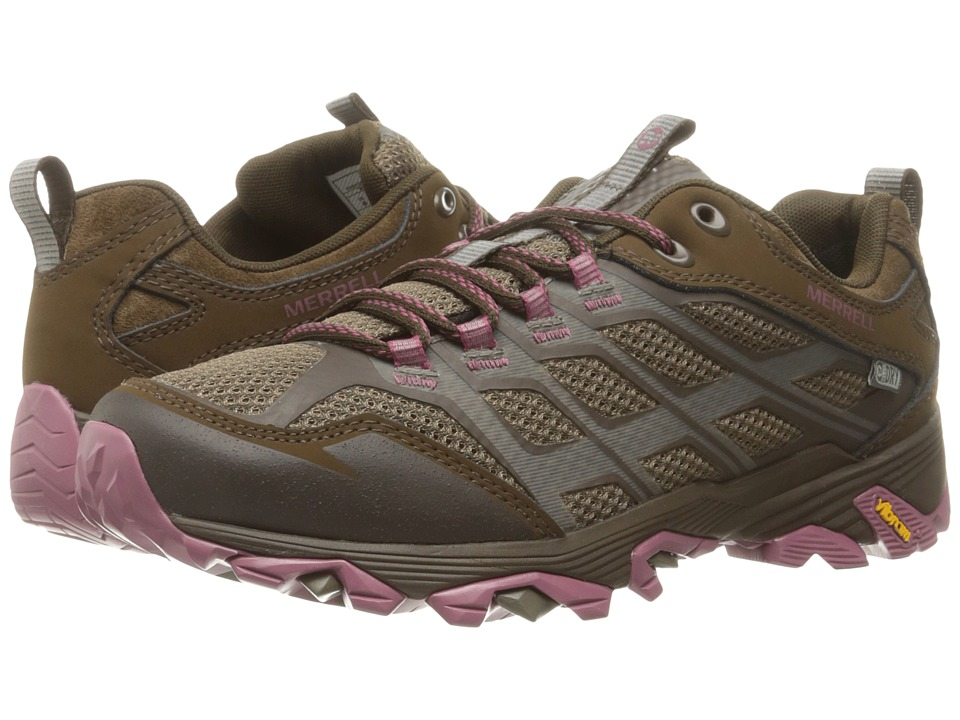 Merrell - Moab FST Waterproof (Boulder) Women's Hiking Boots