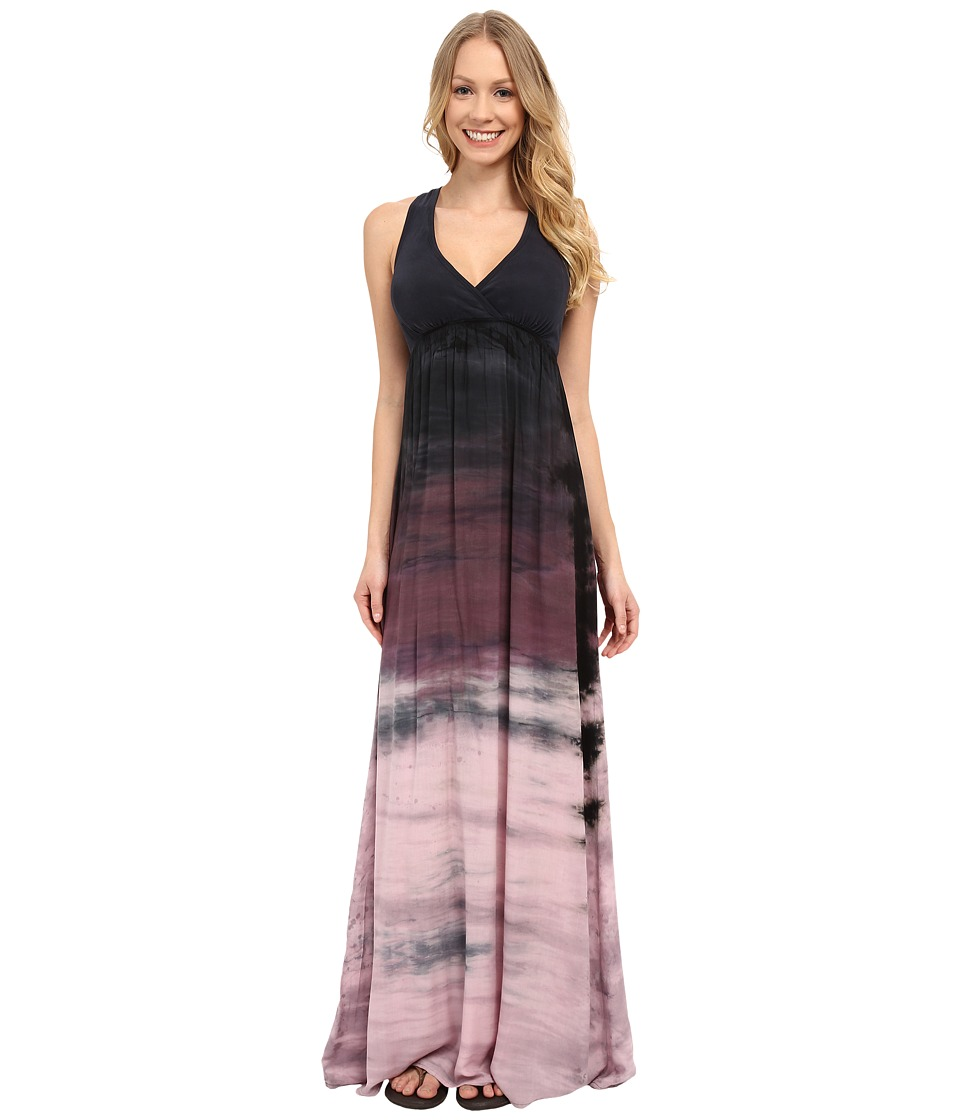 Hard Tail - Twisty Back Maxi Dress (Rainbow Horizon 31) Women's Clothing