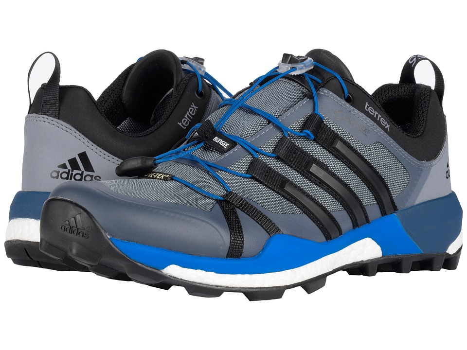 adidas Outdoor - Terrex Skychaser GTX (Vista Grey/Black/Shock Blue) Men's Running Shoes