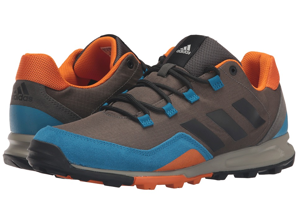 adidas Outdoor - Tivid Mid Low (Utility Grey/Black/Unity Blue) Men's Running Shoes